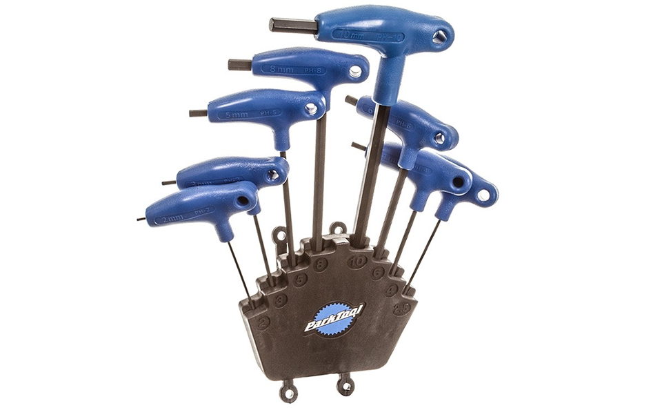 Park Tool Ph 1 2 P Handled Hew Wrench Set With Holder